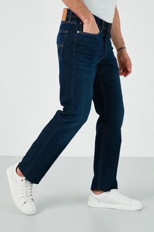 Levis Düz Kesim Pamuklu 514 Jeans Erkek Kot Pantolon 00514-1599 LACİVERT