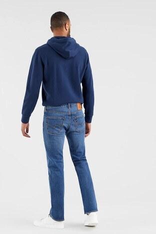 Levis Düz Paça Pamuklu 501 Jeans Erkek Kot Pantolon 005013135 MAVİ