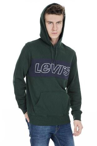 Levis Erkek Sweat 79582-0001 KOYU YEŞİL