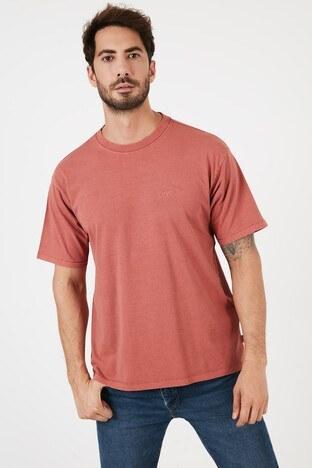 Levi's - Levis Erkek T Shirt A0637-0005 KİREMİT