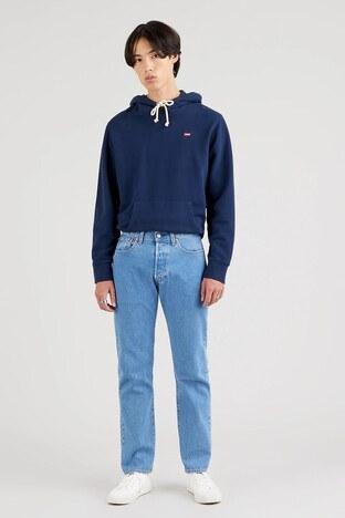 Levi's - Levis Pamuklu Regular Fit 501 Jeans Erkek Kot Pantolon 00501-3182 AÇIK MAVİ