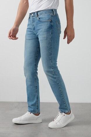 Levis Pamuklu Regular Fit 501 Jeans Erkek Kot Pantolon 005013108 AÇIK MAVİ