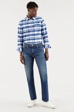 Levi's - Levis Pamuklu Regular Fit 502 Jeans Erkek Kot Pantolon 29507-0994 LACİVERT