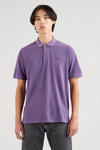 Levis Rahat Kesim % 100 Pamuk Düğmeli T Shirt Erkek Polo 35972-0005 MOR
