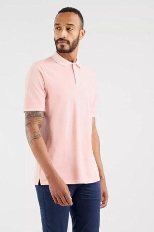Levi's - Levis Rahat Kesim % 100 Pamuk Düğmeli T Shirt Erkek Polo 35972-0011 GÜL KURUSU