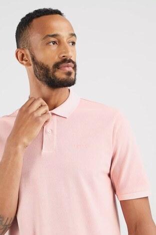 Levis Rahat Kesim % 100 Pamuk Düğmeli T Shirt Erkek Polo 35972-0011 GÜL KURUSU