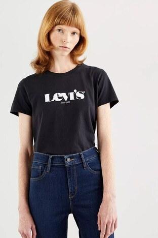 Levi's - Levis Bayan T Shirt 173691250 SİYAH