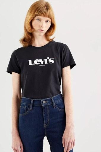 Levis Bayan T Shirt 173691250 SİYAH