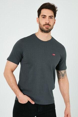 Levis Regular Fit Bisiklet Yaka % 100 Pamuk Erkek T Shirt 56605-0109 ANTRASİT
