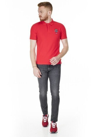 Levis Regular Fit T Shirt Erkek Polo 85631-0009 KIRMIZI