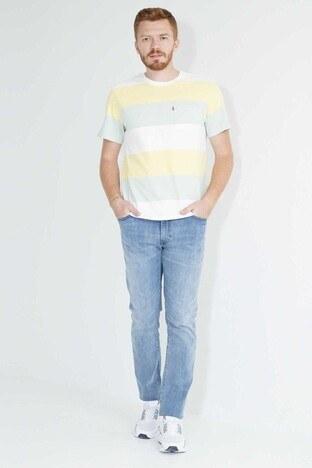 Levis Slim Fit Dar Paça Pamuklu 511 Jeans Erkek Kot Pantolon 045114106 AÇIK MAVİ