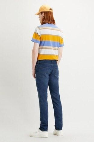Levis Slim Fit Pamuklu 511 Jeans Erkek Kot Pantolon 04511-4837 İNDİGO
