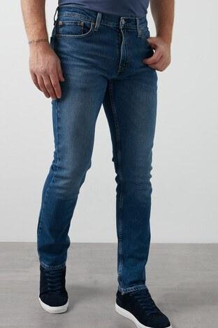 Levis Slim Fit Pamuklu 511 Jeans Erkek Kot Pantolon 04511-4890 MAVİ