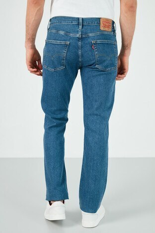Levis Slim Fit Pamuklu 511 Jeans Erkek Kot Pantolon 04511-5084 MAVİ