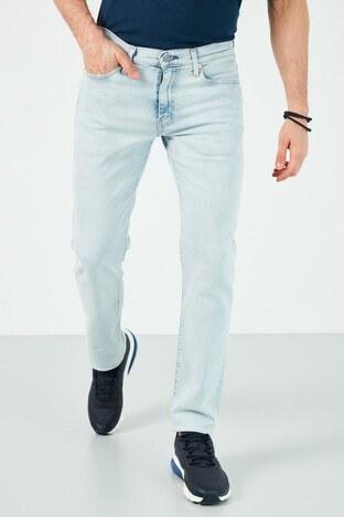 Levis Slim Fit Pamuklu 511 Jeans Erkek Kot Pantolon 04511-5087 AÇIK MAVİ