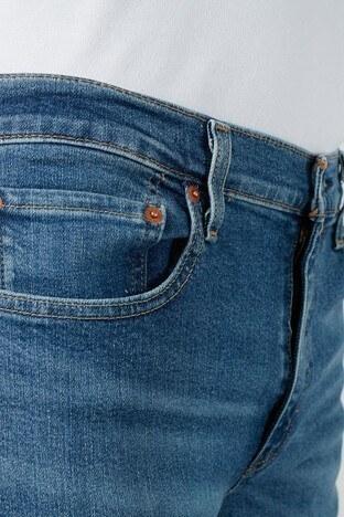 Levis Slim Fit Pamuklu 512 Jeans Erkek Kot Pantolon 28833-0786 MAVİ
