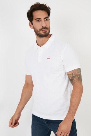 Levi's - Levis T Shirt Erkek Polo A0229-0000 BEYAZ