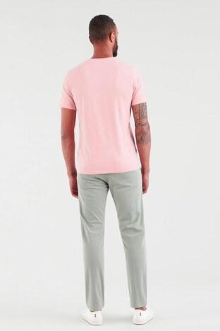 Levis V Yaka % 100 Pamuk Erkek T Shirt 85641-0013 PEMBE