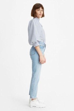 Levis Yüksek Bel % 100 Pamuk 501 Jeans Bayan Kot Pantolon 36200-0124 AÇIK MAVİ