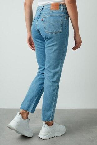 Levis Yüksek Bel Pamuklu 501 Jeans Bayan Kot Pantolon 362000096 AÇIK MAVİ