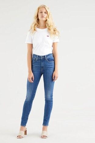Levi's - Levis Yüksek Bel Skinny Pamuklu 721 Jeans Bayan Kot Pantolon 188820422 MAVİ