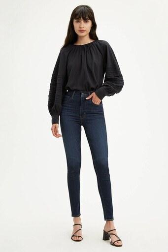 Levis Yüksek Bel Süper Skinny Mile Jeans Bayan Kot Pantolon 22791-0107 LACİVERT