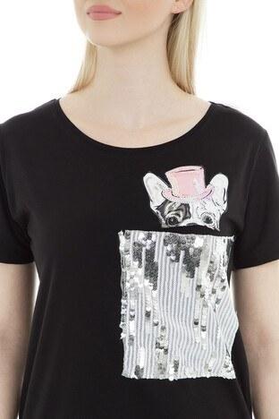 Lsk Bayan T Shirt 4343284 SİYAH