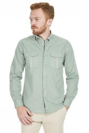Lufian Erkek Gömlek 111010130 YEŞİL