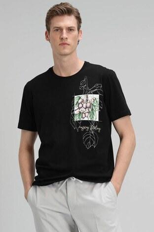 Lufian - Lufian Erkek T Shirt 111020103 SİYAH