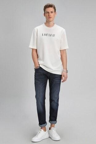 Lufian - Lufian Slim Fit Pamuklu Jeans Erkek Kot Pantolon 111200076 İNDİGO