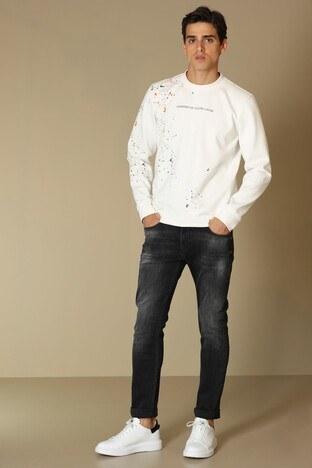 Lufian - Lufian Jeans Erkek Kot Pantolon 112200124 ANTRASİT