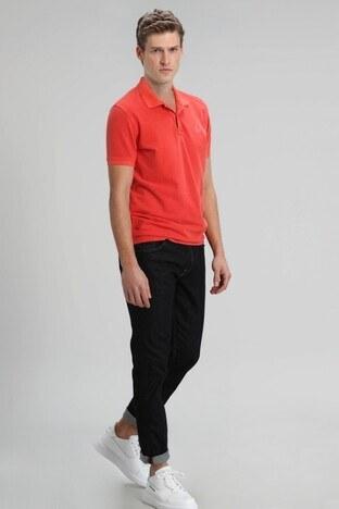 Lufian - Lufian Regular Fit Pamuklu Rain Jeans Erkek Kot Pantolon 110200002 KOYU İNDİGO