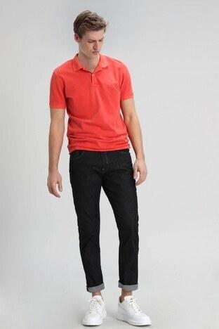 Lufian Regular Fit Pamuklu Rain Jeans Erkek Kot Pantolon 110200002 KOYU İNDİGO