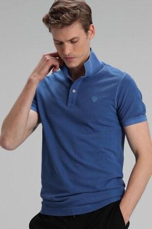Lufian - Lufian Vernon % 100 Pamuklu T Shirt Erkek Polo 111040056 SAKS