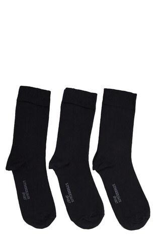 Lumberjack - Lumberjack 3 Pack Erkek Çorap AIKEN SİYAH