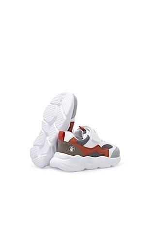 LumberJack Günlük Spor Erkek Ayakkabı RACE 1FX BEYAZ-TURUNCU