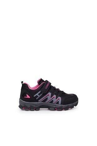 Lumberjack - Lumberjack Günlük Spor Kız Çocuk Ayakkabı UNDER SİYAH-FUJYA