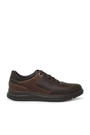 Lumberjack - Lumberjack Hakiki Deri Erkek Ayakkabı LINES NUB KUM