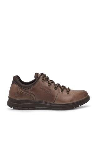 Lumberjack - Lumberjack Hakiki Deri Günlük Spor Erkek Ayakkabı LINDUM NUB 9PR KUM
