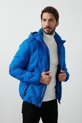 Lumberjack - Lumberjack Kapüşonlu Erkek Mont HENRY COAT SAKS