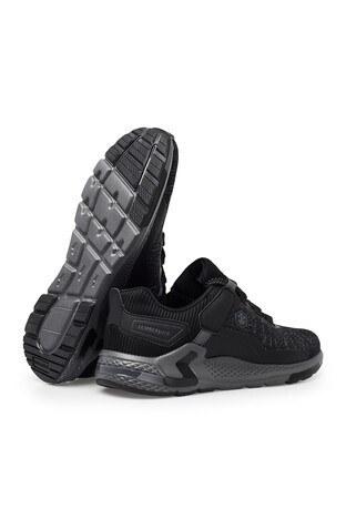 Lumberjack Memory Foam Günlük Spor Erkek Ayakkabı WORLD SİYAH-SİYAH