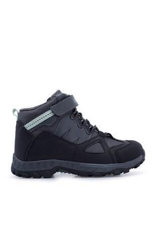 Lumberjack - Lumberjack Outdoor Kız Çocuk Ayakkabı SALSAS SİYAH-YEŞİL