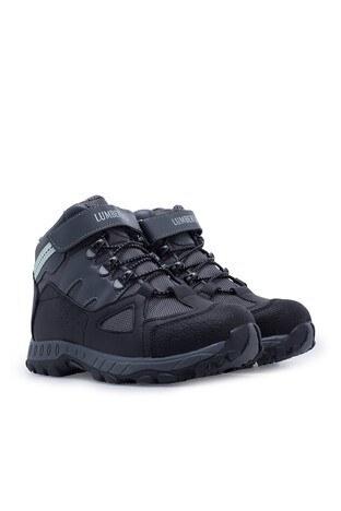 Lumberjack Outdoor Kız Çocuk Ayakkabı SALSAS SİYAH-YEŞİL