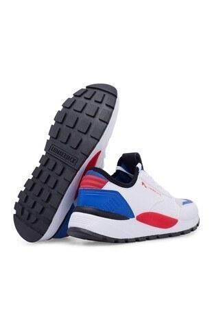 Lumberjack Sneaker Erkek Ayakkabı MORVAN BEYAZ-KIRMIZI