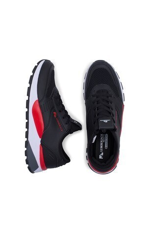 Lumberjack Sneaker Erkek Ayakkabı MORVAN SİYAH-KIRMIZI