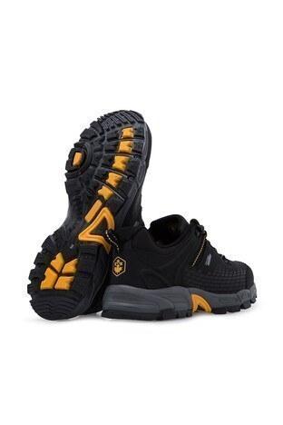 Lumberjack Softshell Su Geçirmez Erkek Ayakkabı FLAKE SİYAH