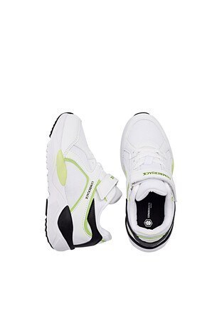 Lumberjack Günlük Spor Unisex Çocuk Ayakkabı NEWTON JR 1FX BEYAZ-YEŞİL