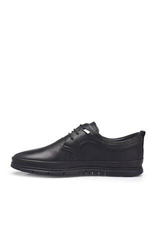 Marco Rossi Deri Erkek Ayakkabı 3514518 SİYAH