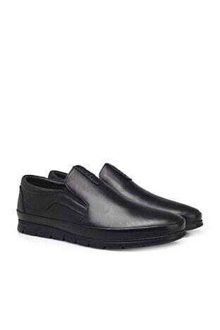 Marco Rossi Deri Erkek Ayakkabı 3515272 SİYAH