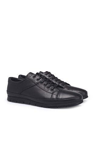 Marco Rossi Deri Erkek Ayakkabı 3515273 SİYAH